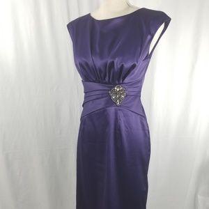 ELIZA J Purple Special Occasion Dress  Sz 6